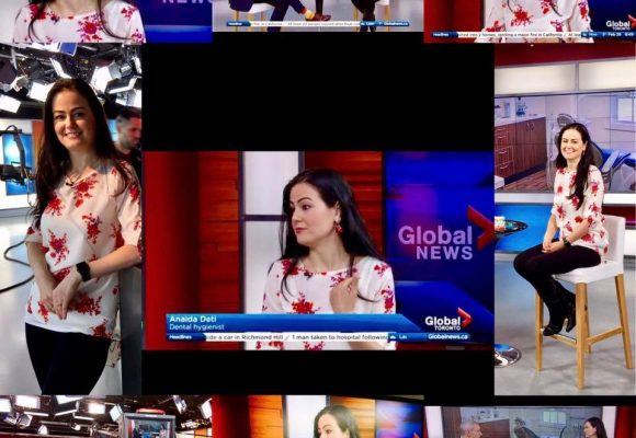 Anaida on the Global News Morning Show