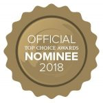 Best Dental Clinic Top Choice Awards nominee 2018
