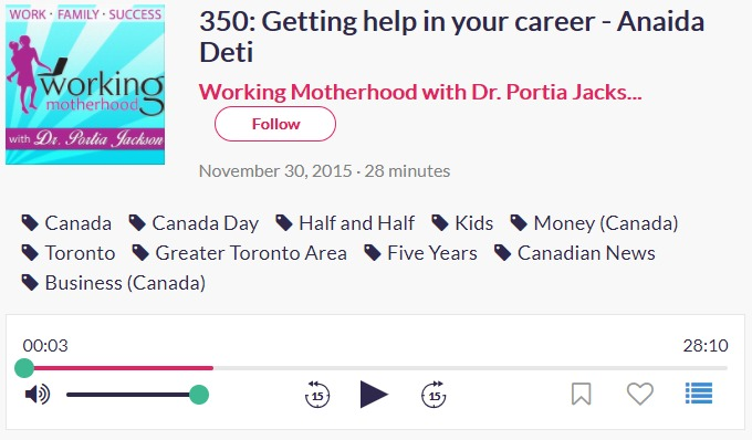 Anaida On Working Motherhood With Dr Portia Jackson