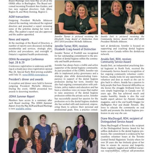 DentalX in Focus Magazine April 2018