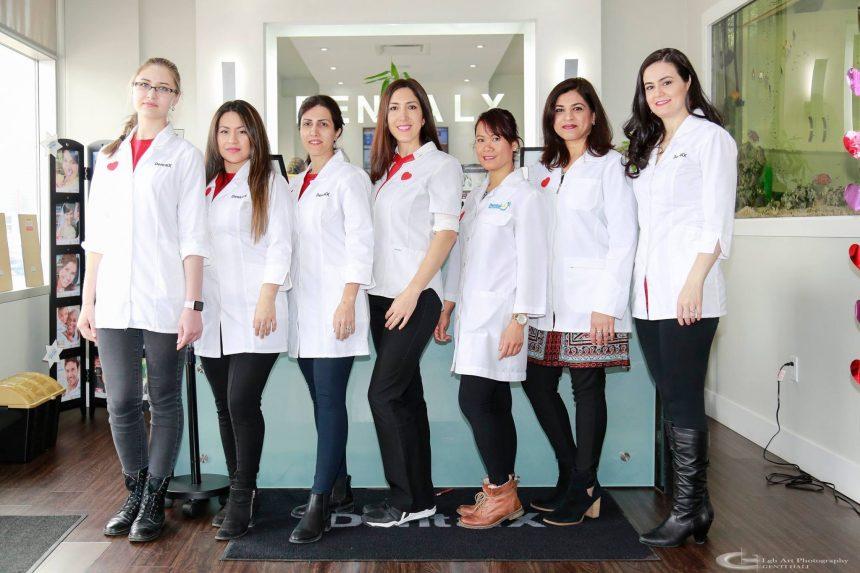 dental staff at north york dental office