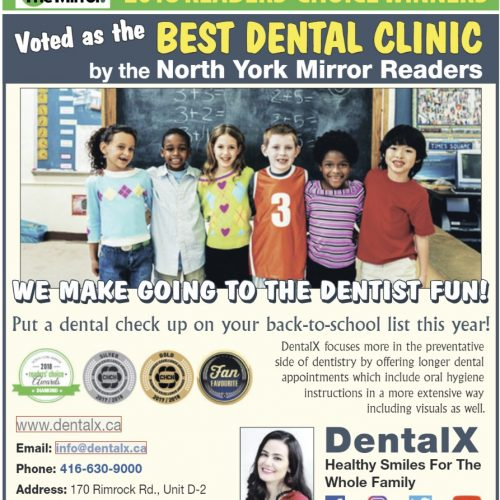 DentalX in North York Mirror Magazine