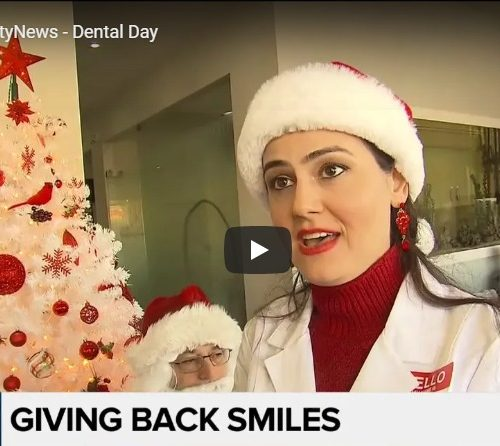 DentalX featured on CityTV News – Giving Back Smiles
