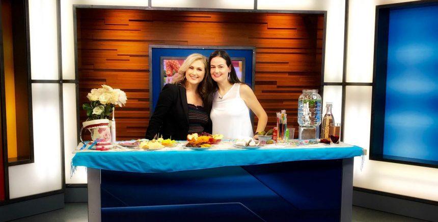 Anaida Deti on Global News Morning Show
