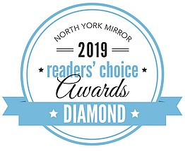 North York Mirror Readers Choice Award Winner 2019