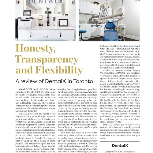 Review of DentalX – Top Choice Magazine