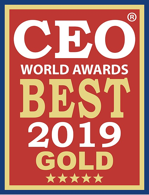 CEO World Award Best 2019 Gold