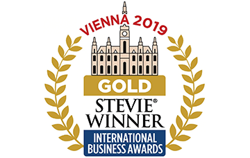 2019 Stevie Entrepreneur of the Year Gold Winner