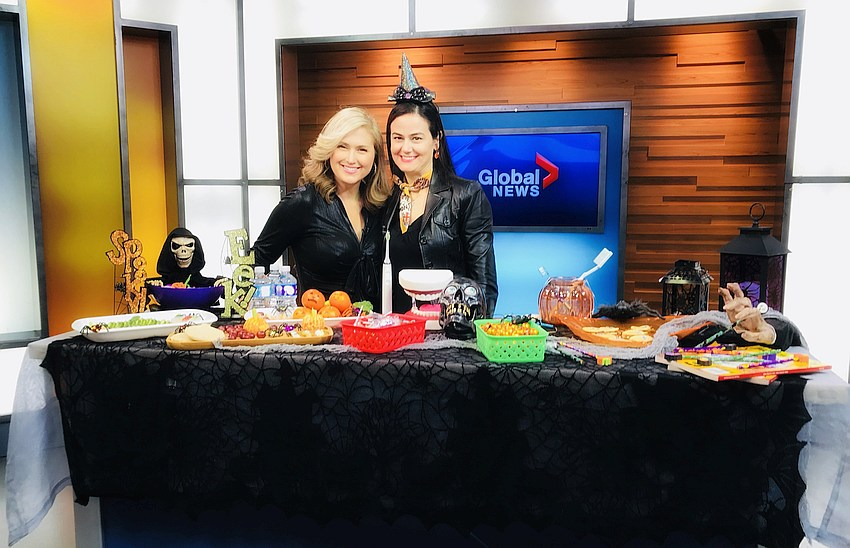 Anaida Deti on Global News Morning Show with Toronto's Jennifer Valentyne