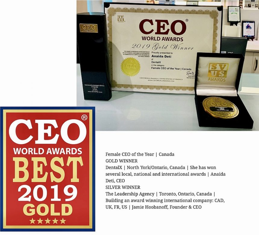 CEO World Awards Female CEO of The Year