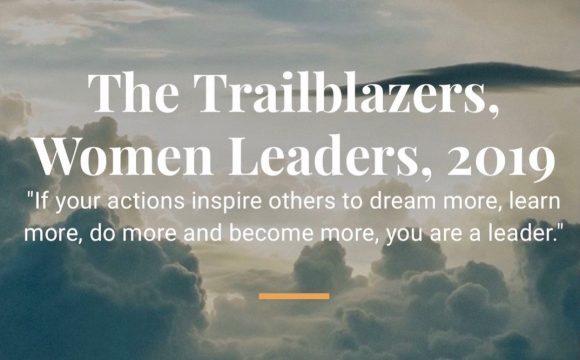 Anaida Deti featured in Aspioneer The Trailblazers, Women Leaders, 2019