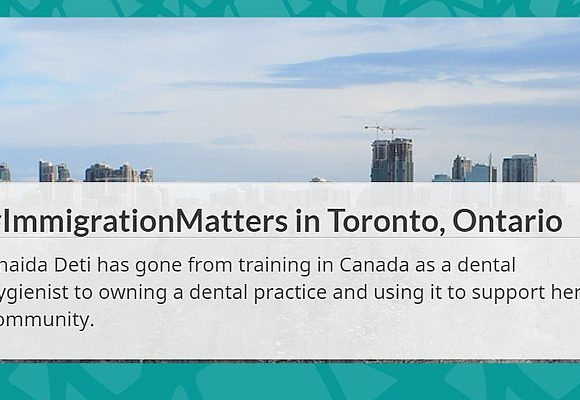 Immigration Matters – Anaida Deti featured on canada.ca