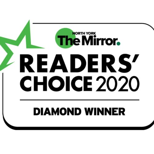 2020 Readers' Choice Award for Best Dental Services