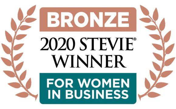 Bronze medal 202 stevie winner