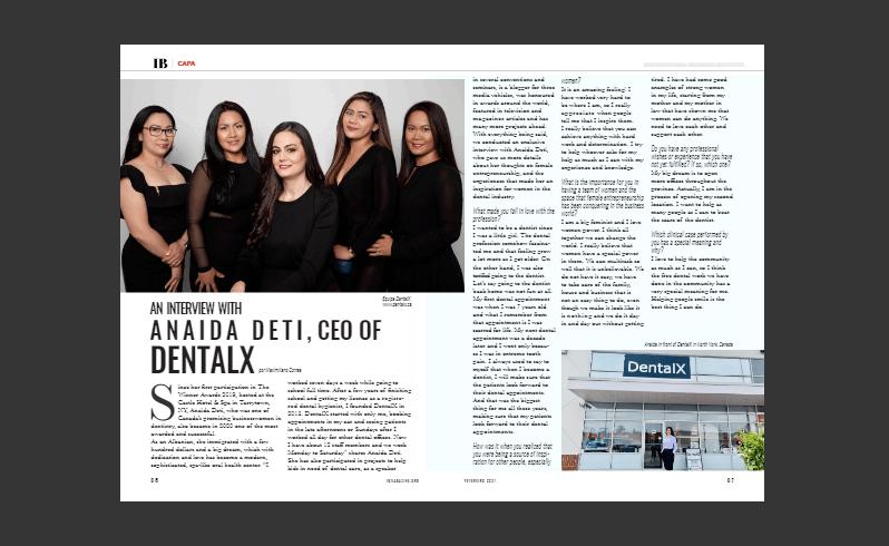 dentalx in ibmagazine