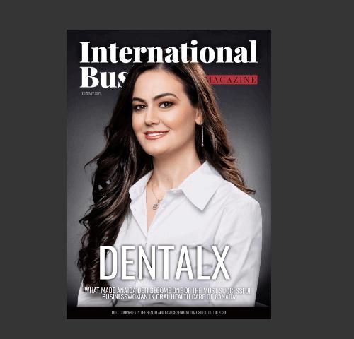 Anaida Deti on cover of ibmagazine
