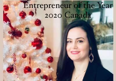 Anaida Deti Wins Entrepreneur of the Year 2020