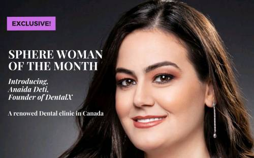 Anaida sphere woman of the month cover