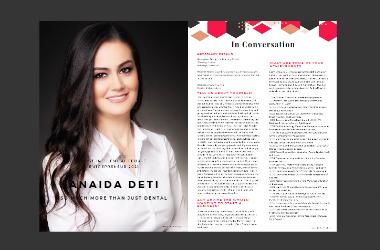 Anaida Deti featured in Woman Entrepreneur Magazine September 2021